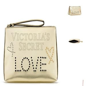 Victorias secret Love beauty bag